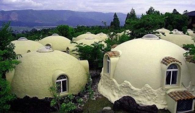 japonya da köpük evler