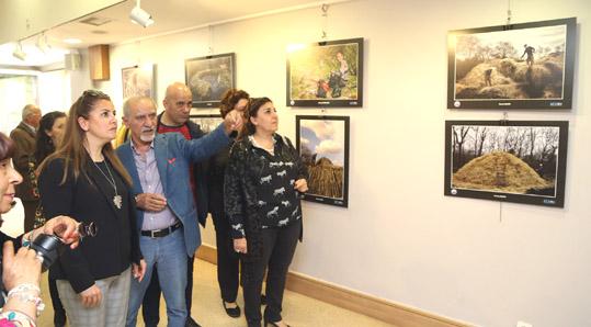 1 Mayıs anısına kömür işçileri fotoğraflandı