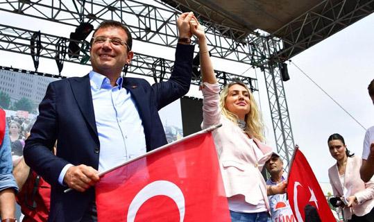 1 Mayıs'a İstanbul'da coşkulu kutlama