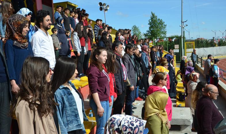19 Mayıs Çatalca'da törenlerle kutlandı