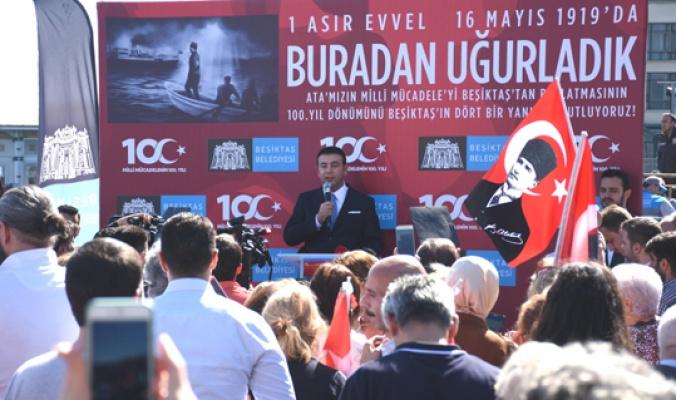 Beşiktaş'ta Bağımsızlığın 'İlk adım' yürüyüşü