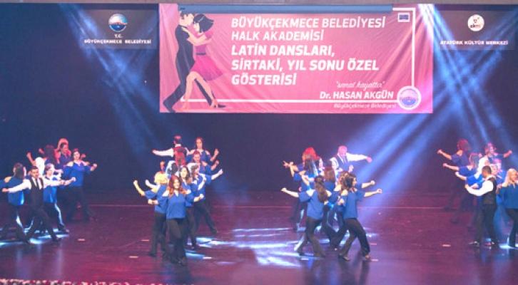 Büyükçekmece'de latin dansları