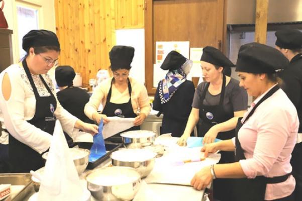 Büyükçekmece'de Mutfak Akademisi  günleri
