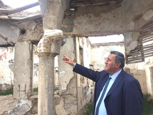 Kapadokya'nın tahribatı seyredildi