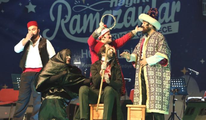 Küçükçekmece'de renkli ramazan etkinlikleri