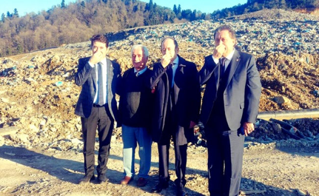 Trabzon'da 10 köy tehdit altında
