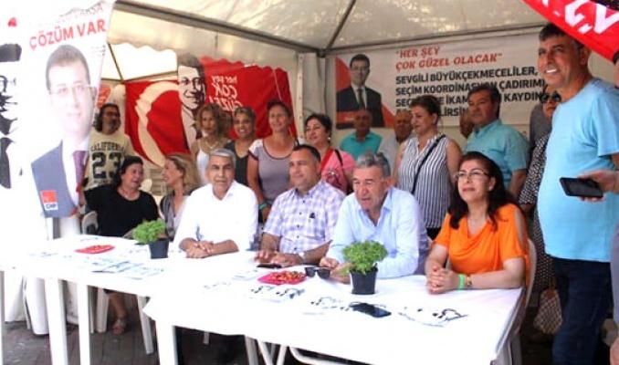Canpolat CHP standına saldırıyı kınadı