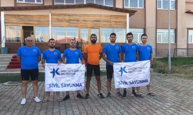 K.Çekmece ekipleri Tunceli'de