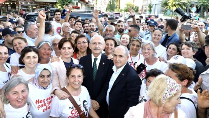 Kılıçdaroğlu Silivri ve Büyükçekmece'de