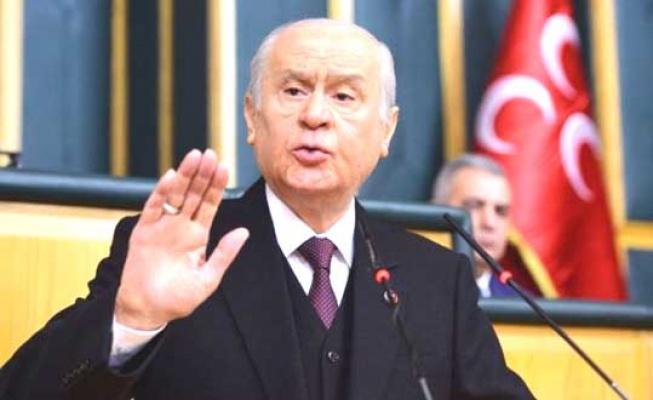 Bahçeli: Sayın Kılıçdaroğlu için su ısınıyor
