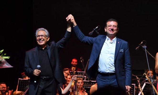 İmamoğlu Livaneli konseri'nde