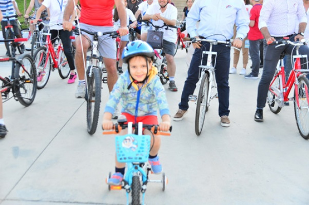 """Yaşam Vadisi'nde """"Gençlik İçin Engelsiz Pedal'"""