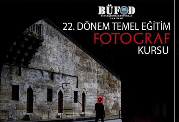 BÜFOD 22'inci dönem fotoğraf kursu başlıyor