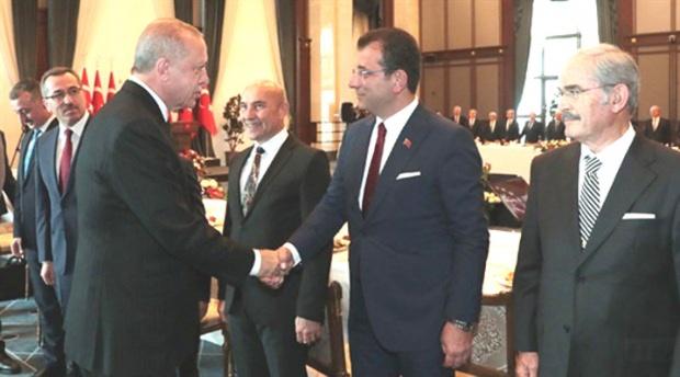 Erdoğan başkanlarla buluştu