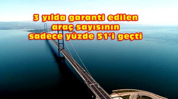 Osmangazi Köprüsü Vatandaşın belini bükmeye devam ediyor