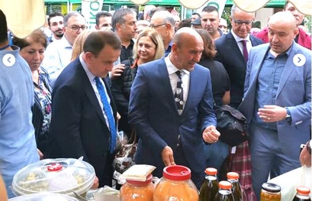 İzmir'de üretici pazarı açıldı