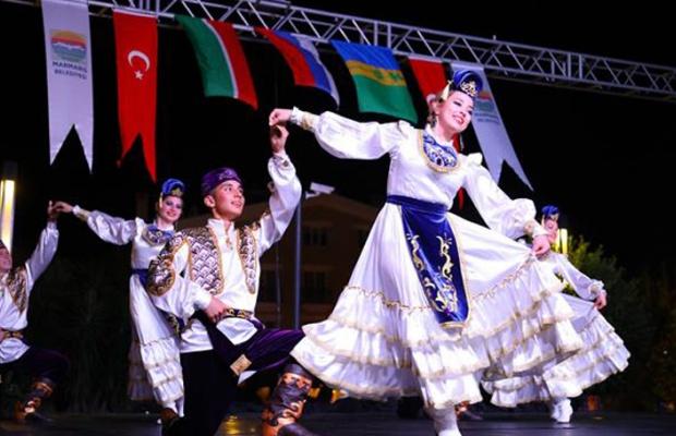 Tataristan'dan-Marmaris'e kardeşlik festivali