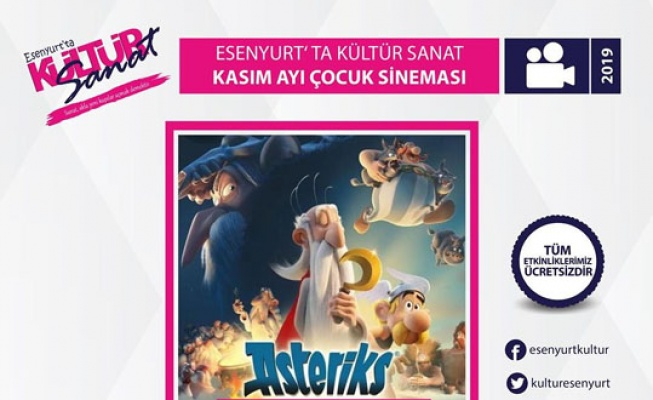 Asteriks'in maceraları Esenyurt'ta
