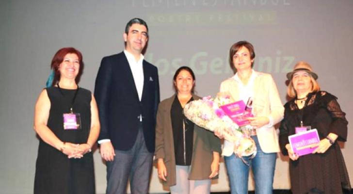 Kaftancıoğlu'na Onur Ödülü