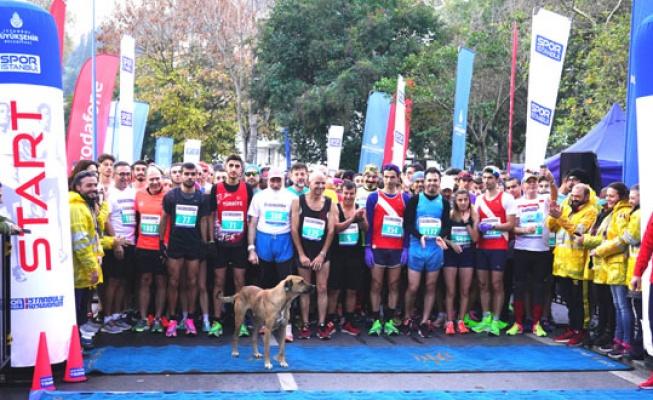 İstanbul'u koşuyorum Bebek'te tamamlandı