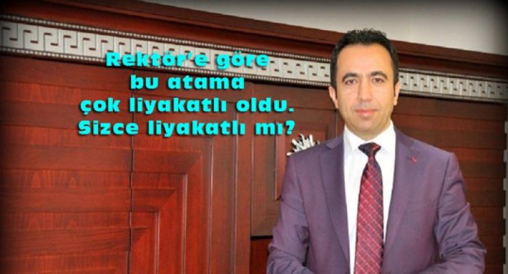 Tunceli'de Rektör Şoförünü İletişim Fakültesi Sekreterliğine atadı