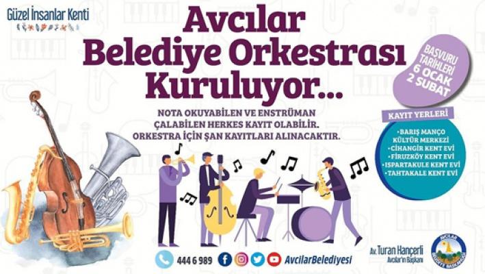 Avcılar'da Belediye Orkestrası Kuruluyor