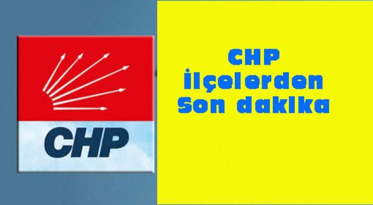 CHP ilçelerde kimler kazandı?