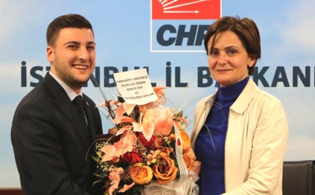 CHP Silivri'den Kaftancıoğlu'na ziyaret