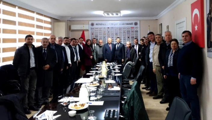 CHP'li Esen SİAD'ı ziyaret etti