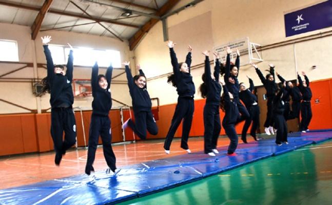 Küçükçekmece'deKış Spor okulları başladı