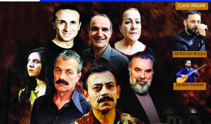 Mahzuni'nin hayatı tiyatro sahnesinde