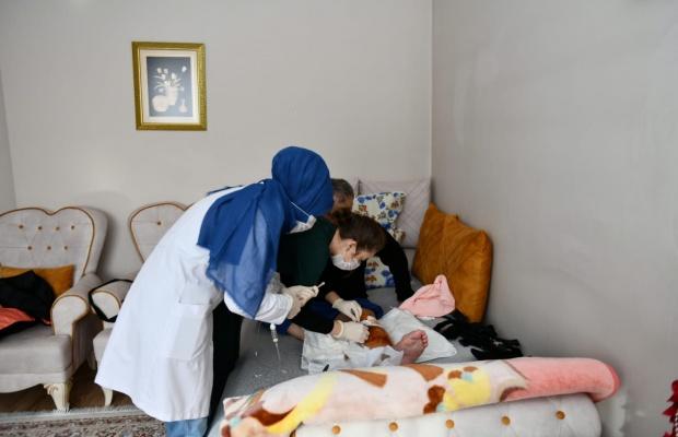 Esenyurt'ta evde sağlık hizmeti