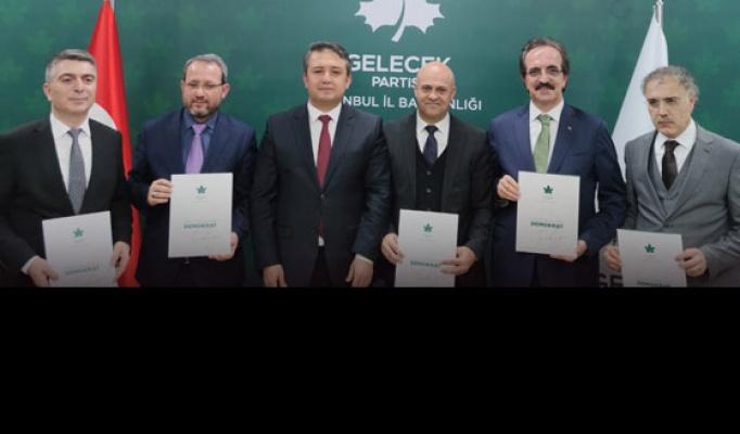 Gelecek'te beş ilçe başkanı belirlendi