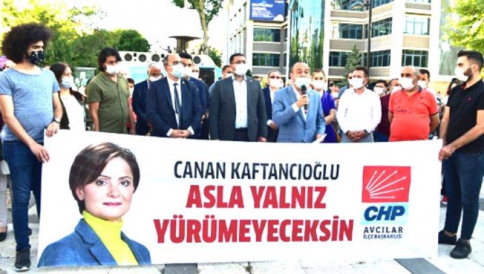 CHP Örgütleri'nden Kaftancıoğlu'na destek