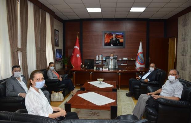 İYİ Parti'den Kaymakam Partal'a ziyaret