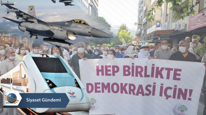 """Haziran'da en cok  """"Demokrasi Yürüyüşü"""" k onuşuldu…"""