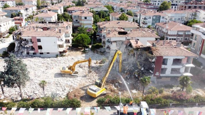 70 ailenin deprem kâbusu sona erdi