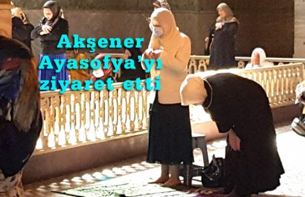 Alparslan'a, Fatih'e ve Atatürk'e dua etti