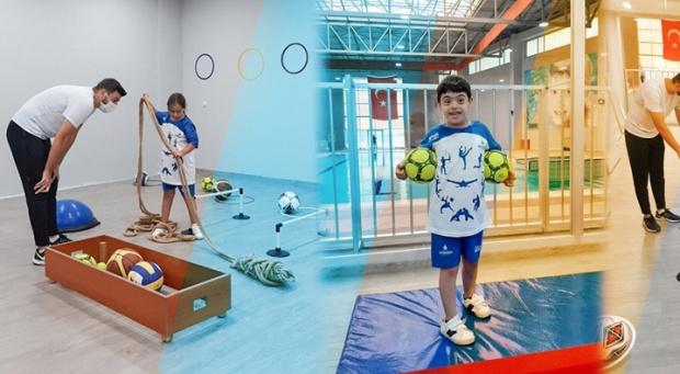 İBB'den engellilere spor tesisi