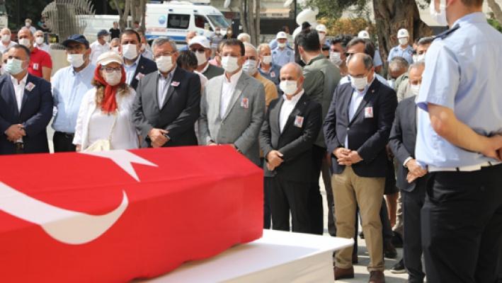 Ali Çebi, son yolcuğuna uğurlandı