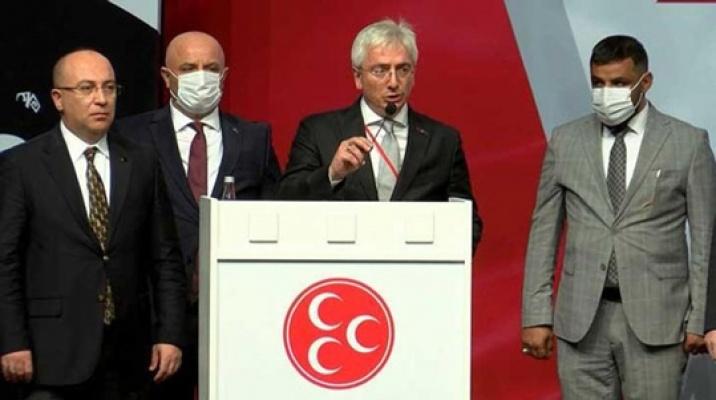 Gür yeniden MHP İl Başkanı