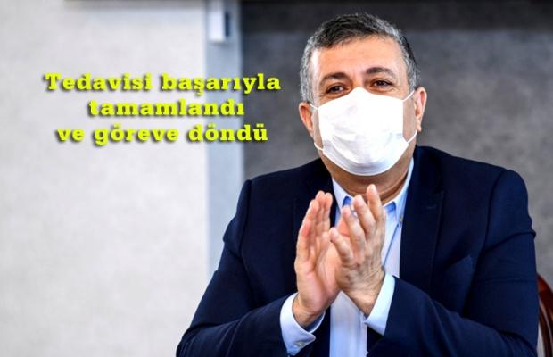 CHP'li Başkan Bozkurt virüsü atlattı