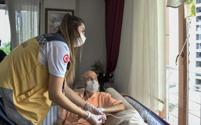 978 vatandaşa evde sağlık hizmeti