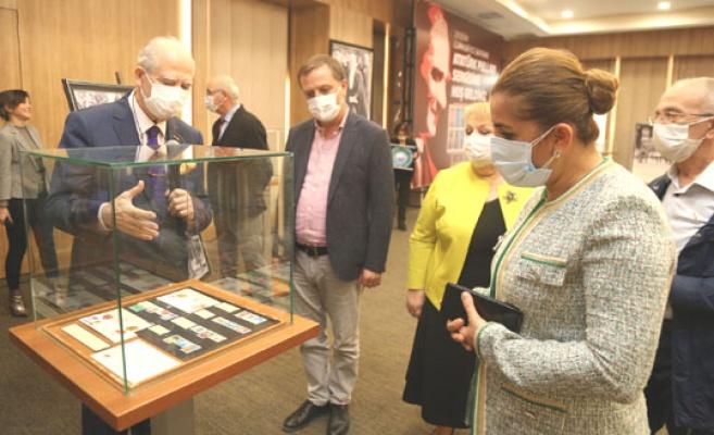 Büyükçekmece'de Atatürk Pulları sergisi