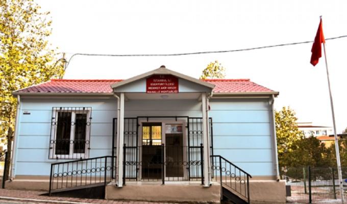Esenyurt'ta muhtarlık binası yenilendi