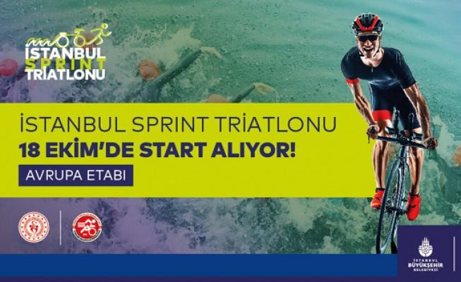 İstanbul Sprint Triatlonu Gürpınar'da