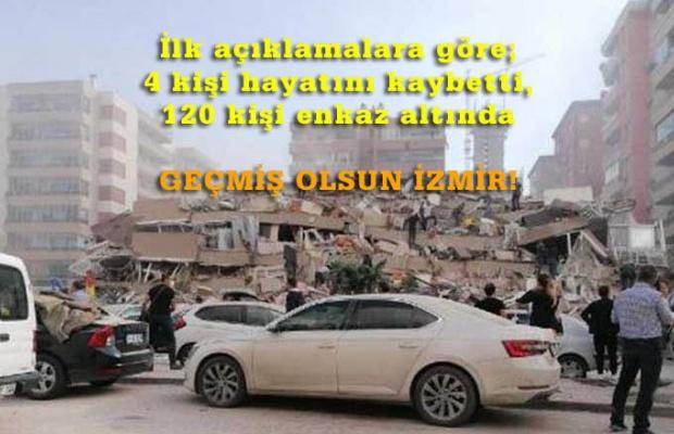 İzmir Seferihisar'da 6,9 büyüklüğünde deprem