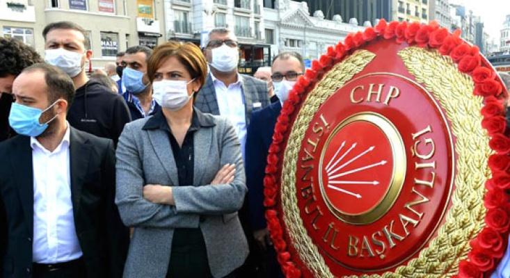 Kaftancıoğlu'ndan Ak Parti Çelengi'nin tören alanına önceden alınmasına tepki