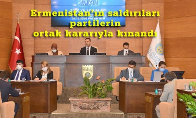 SİLİVRİ BELEDİYE MECLİSİ'NDEN AZERBAYCAN'A DESTEK BİLDİRİSİ