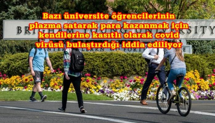 Üniversiteden öğrencilere uyarı: Para kazanmak için koronavirüse yakalanmayın